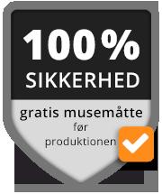 100 % SIKKERHED gratis